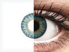Air Optix Colors - Blue - brez dioptrije (2 leči)