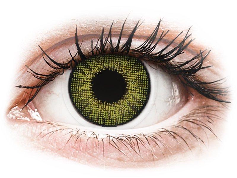 Air Optix Colors - Gemstone Green - z dioptrijo (2 leči)