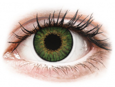 Air Optix Colors - Green - brez dioptrije (2 leči)