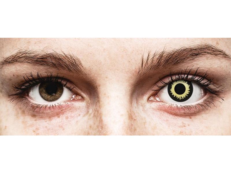 ColourVUE Crazy Lens - Eclipse - brez dioptrije (2 leči)