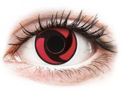 ColourVUE Crazy Lens - Mangekyu - brez dioptrije (2 leči)