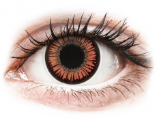 ColourVUE Crazy Lens - Vampire - brez dioptrije (2 leči)