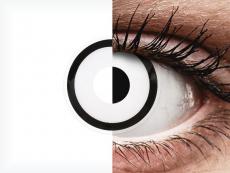ColourVUE Crazy Lens - White Zombie - z dioptrijo (2 leči)