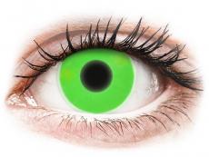 ColourVUE Crazy Glow Green - brez dioptrije (2 leči)