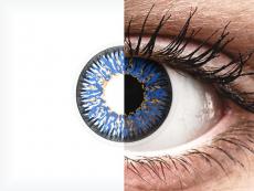 ColourVUE Glamour Blue - brez dioptrije (2 leči)
