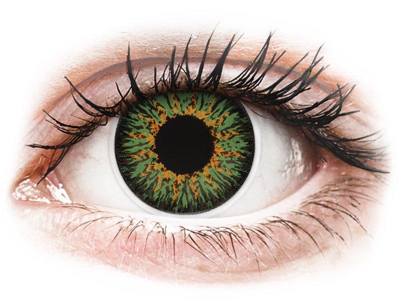 ColourVUE Glamour Green - brez dioptrije (2 leči)