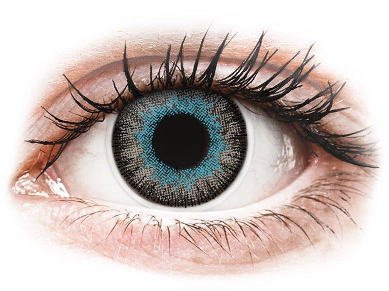 ColourVUE Fusion Blue Gray - brez dioptrije (2 leči)
