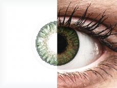 FreshLook ColorBlends Gemstone Green - z dioptrijo (2 leči)