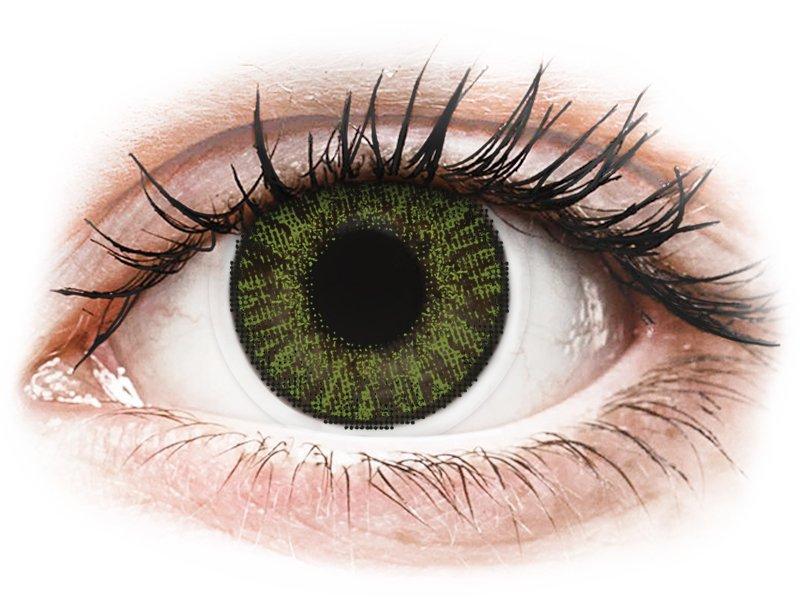 FreshLook ColorBlends Green - brez dioptrije (2 leči)