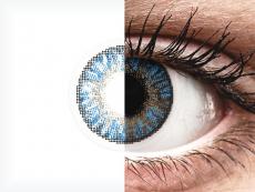 FreshLook ColorBlends True Sapphire - z dioptrijo (2 leči)