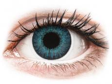 Air Optix Colors - Brilliant Blue - z dioptrijo (2 leči)