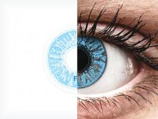 FreshLook Colors Sapphire Blue - brez dioptrije (2 leči)