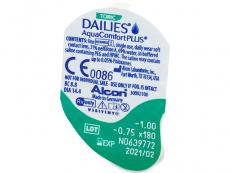 Dailies AquaComfort Plus Toric (90leč)