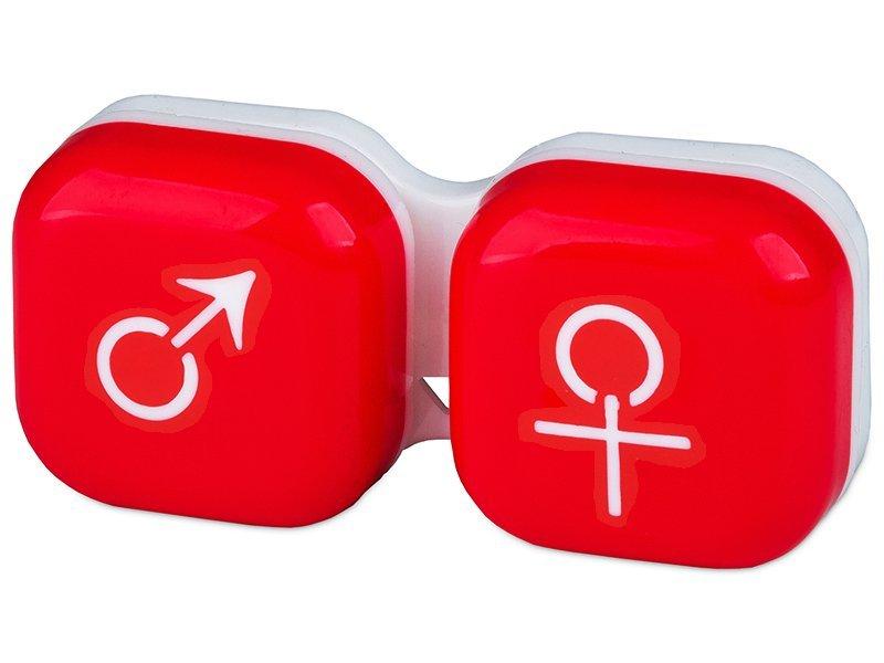 Škatlica man&woman - red