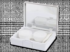 Škatlica z ogledalom Elegant  - silver