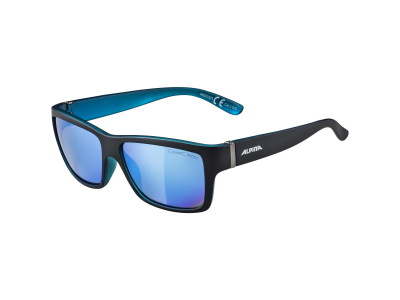 Alpina Kacey Black Matt Blue/Blue Mirror