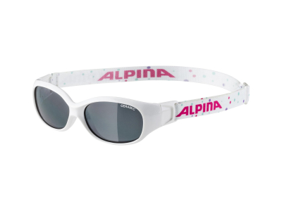 Alpina Sports Flexxy Kids White Dots