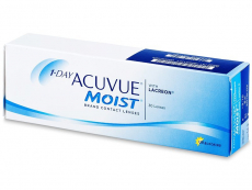 1 Day Acuvue Moist (30 leč)