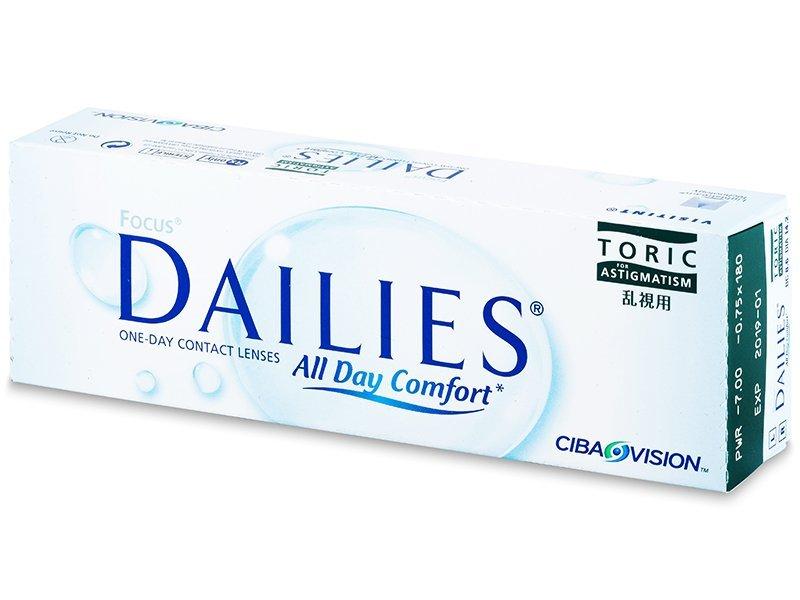 Focus Dailies Toric (30leč)