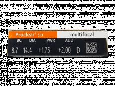 Proclear Multifocal (3leče)
