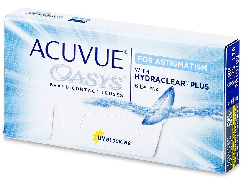 Acuvue Oasys for Astigmatism (6 leč)