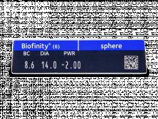 Biofinity (6leč)