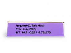 FREQUENCY XCEL TORIC XR (3leče)